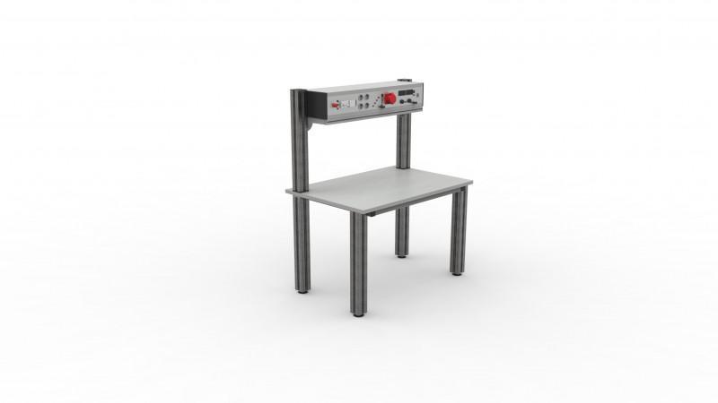 DESMO-Aufbau - Tischaufbau, verschiedene Aufbauvarianten