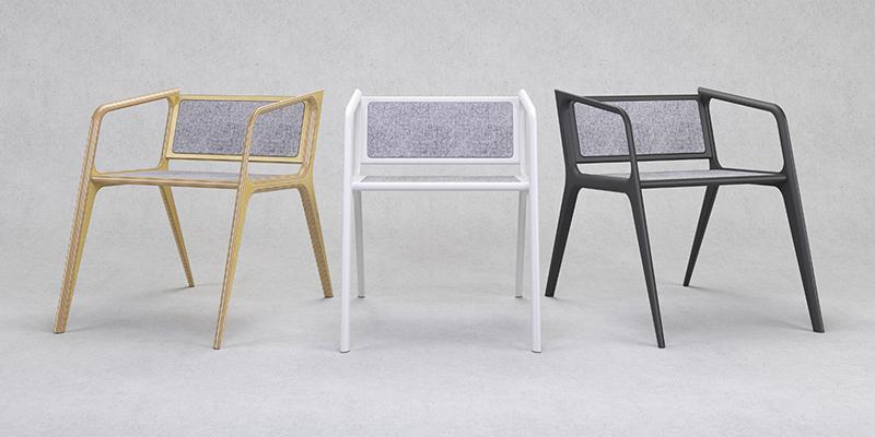 Дизайнерский стул luna_001 - Белый