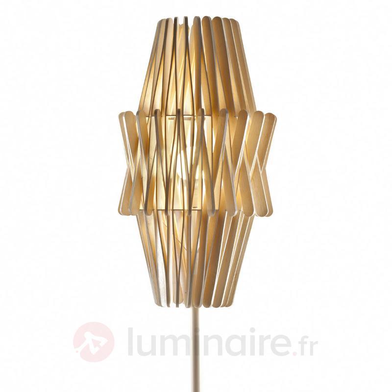 Lampadaire design Stick en bois - Lampadaires design