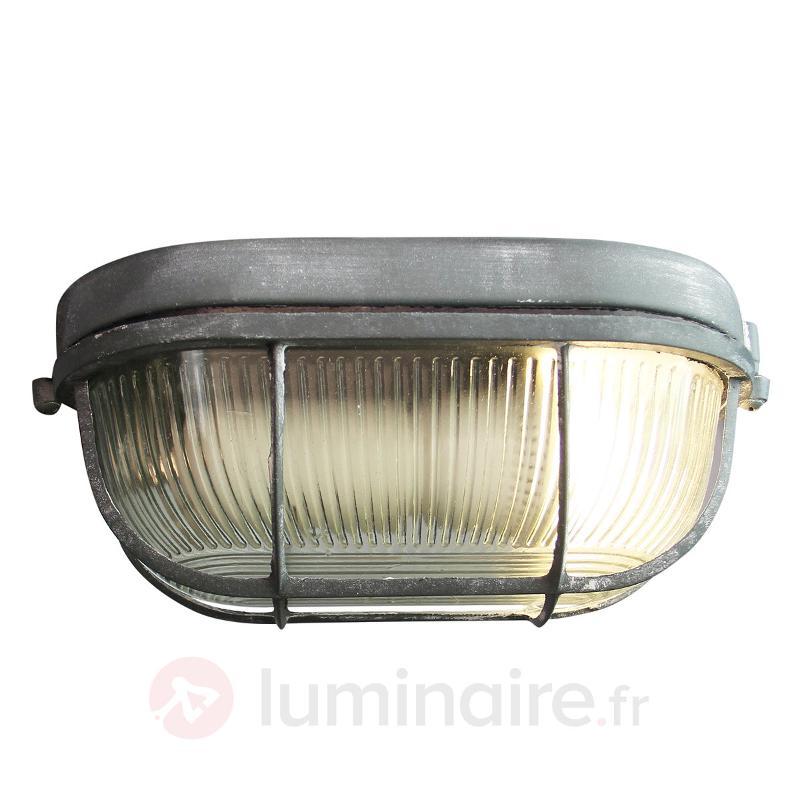 Bobbi - lampe de bateau solide gris béton - Tous les plafonniers