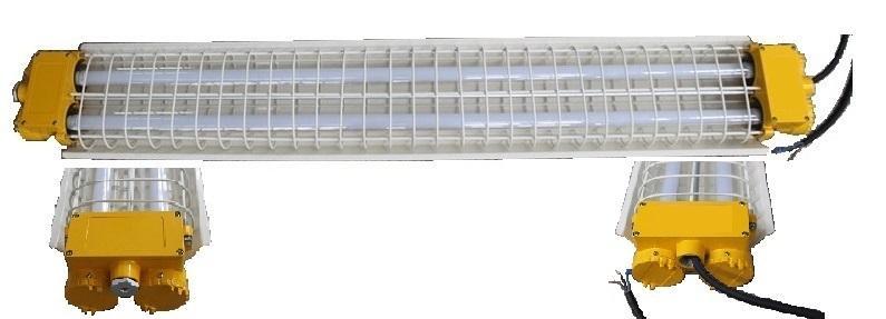 Luminaire ATEX IP66 antidéflagrant à éclairage Leds