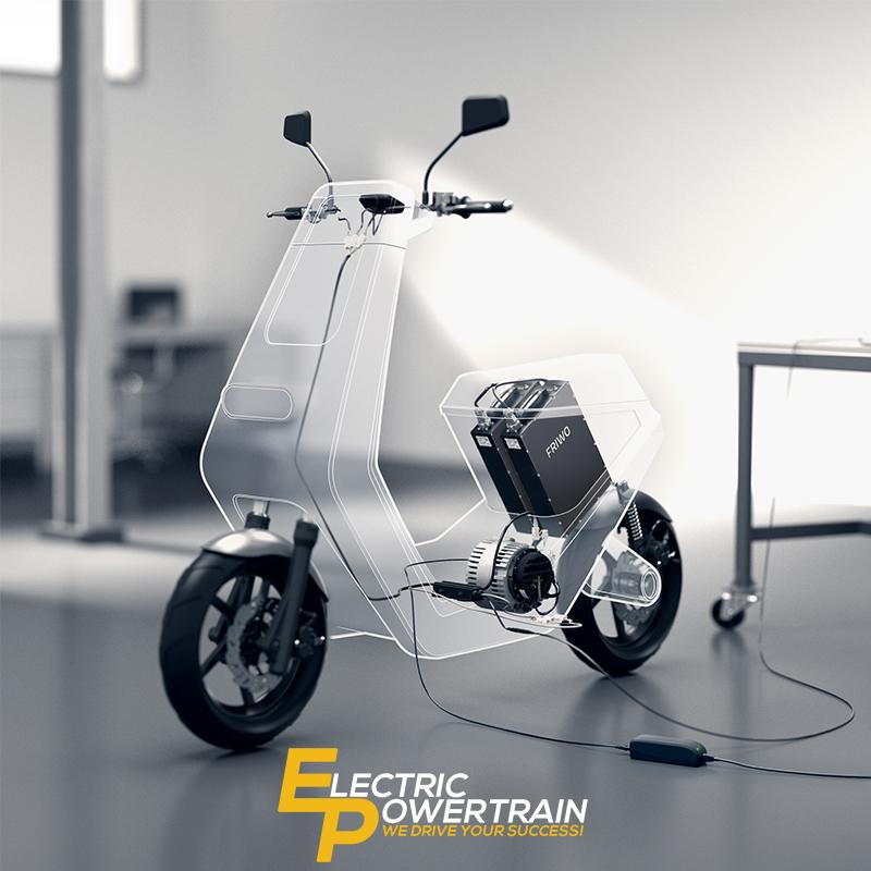 Electric Powertrain Vehicle Kit - A Complete Electric Powertrain System Designed and Built from one source
