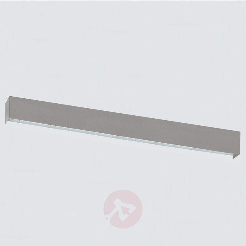 Very bright LED wall light Simply LED, grey, 170cm - design-hotel-lighting