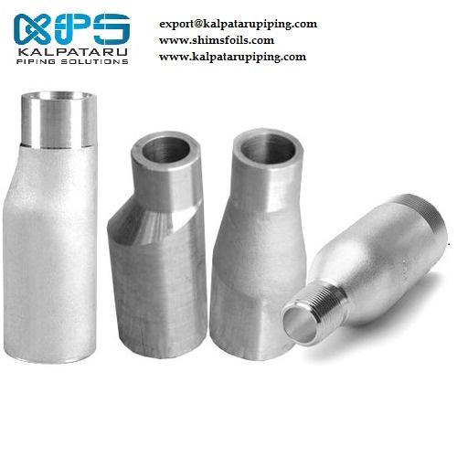 Titanium Gr 2 Eccentric Swage Nipple - Titanium Gr 2 Eccentric Swage Nipple