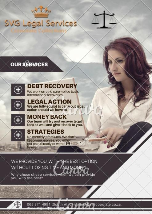SVG Legal Services - Recovery of bad/overdue for international companies.