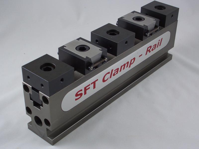 SFT Clamp-Rail Spannschienenset, Länge 600 mm / Breite 80 mm - null