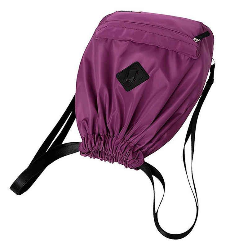 Fashional women backpack - full printing color