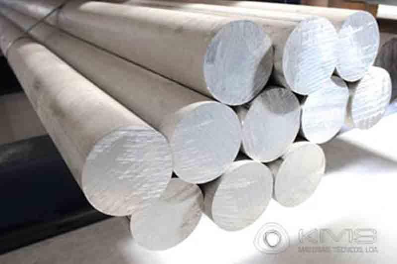 Barras Redondas de Alumínio -