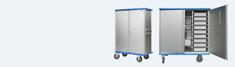 Modular cupboard trolleys - null