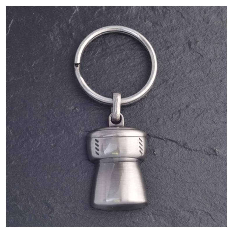 Porte-clés bouchon de champagne 3D 1 face - Porte-clés métal