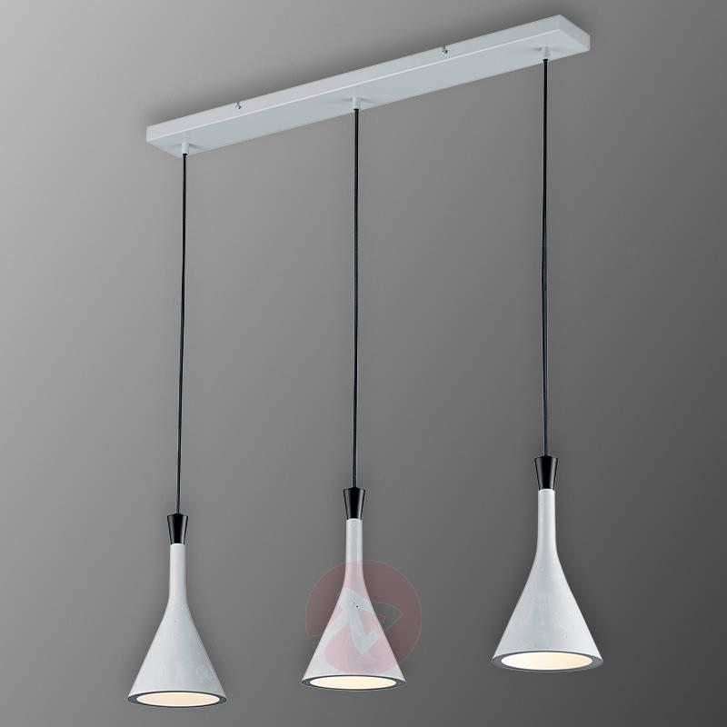 Roddik 3-bulb pendant light - Pendant Lighting