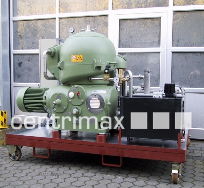 GEA Westfalia Separator Self-cleaning disc centrifuge - OSA 20-02-566