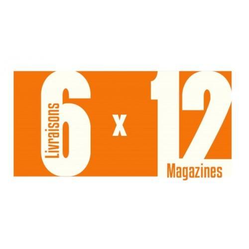 Magazines invendus 6 livraisons x 12 magazines