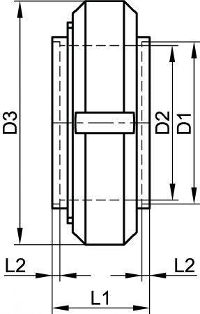 64111 RACCORD COMPLET À SOUDER - JOINT NR SBR Inox 316L - Raccords MACON