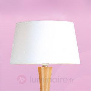 Lampadaire Beverly Is aspect chromé - Lampadaires en tissu