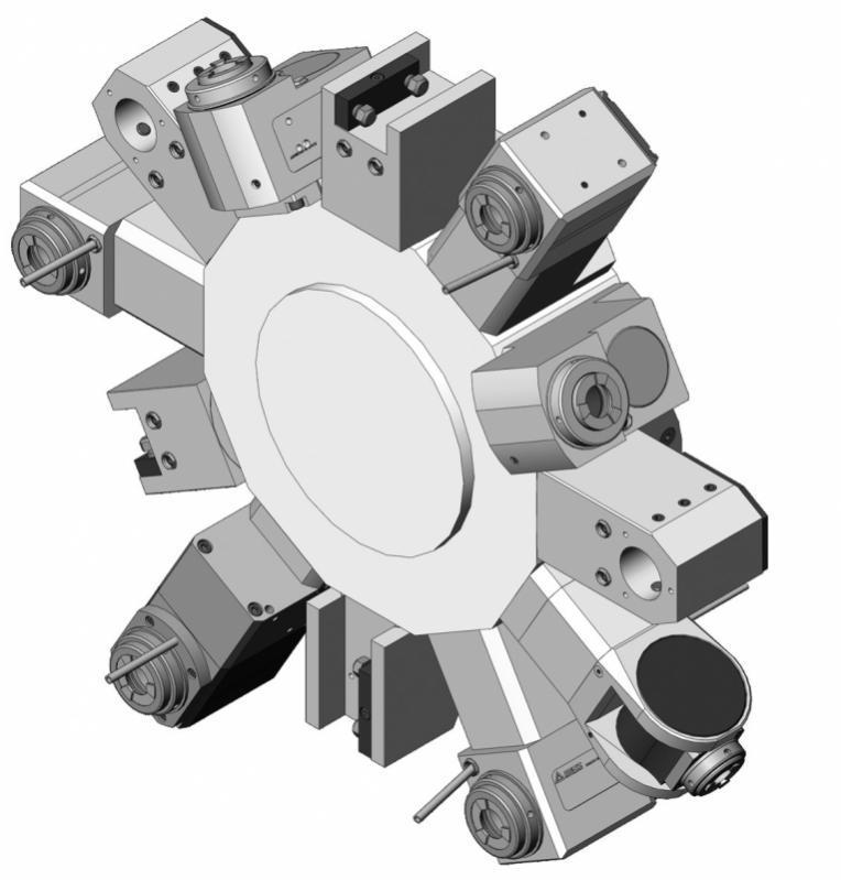 Statische Halter Mazak - Statische Halter für den Maschinentyp Mazak