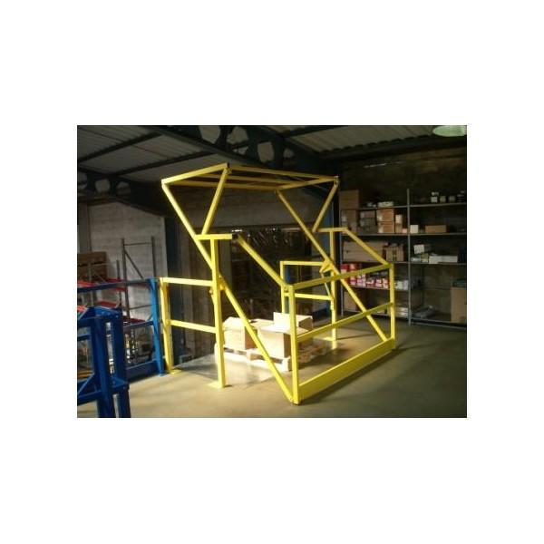 Plateforme de stockage et mezzanine industrielle - Accessoires pour plateforme de stockage : sas à palettes, portillon,...