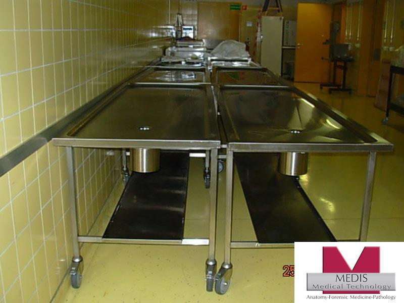 Autopsy Table Veterinary Anatomy / Pathology Dissecting - MA-2030