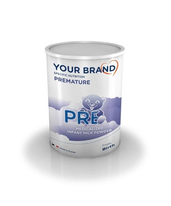 Special infant milk formula - Premature - PRE