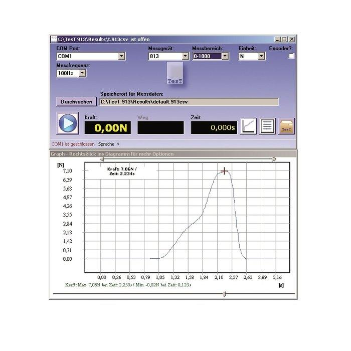 Evaluation Software SoftTesT 913 - Software