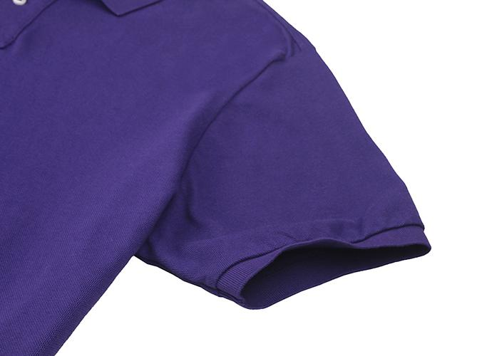 Men's basic turn-down collar T-shirt - men's clothing