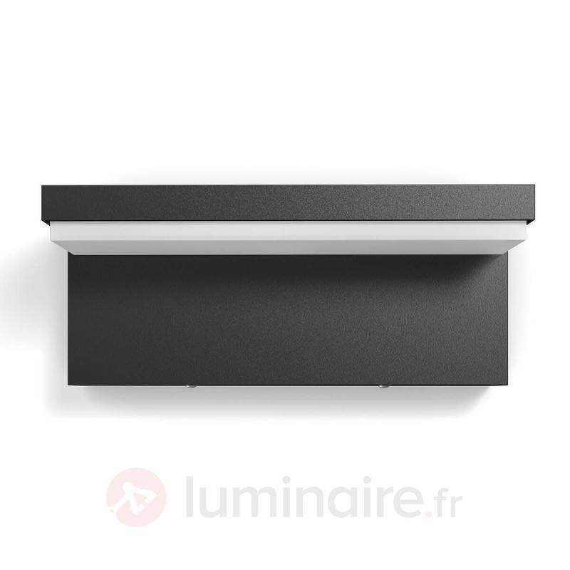 Applique d'extérieur LED anguleuse Bustan - Appliques d'extérieur LED
