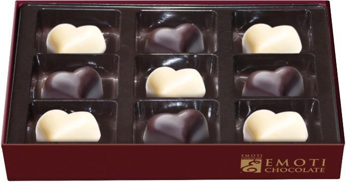 EMOTI Hazelnut Hearts Chocolates, 117g. SKU: 015538 -