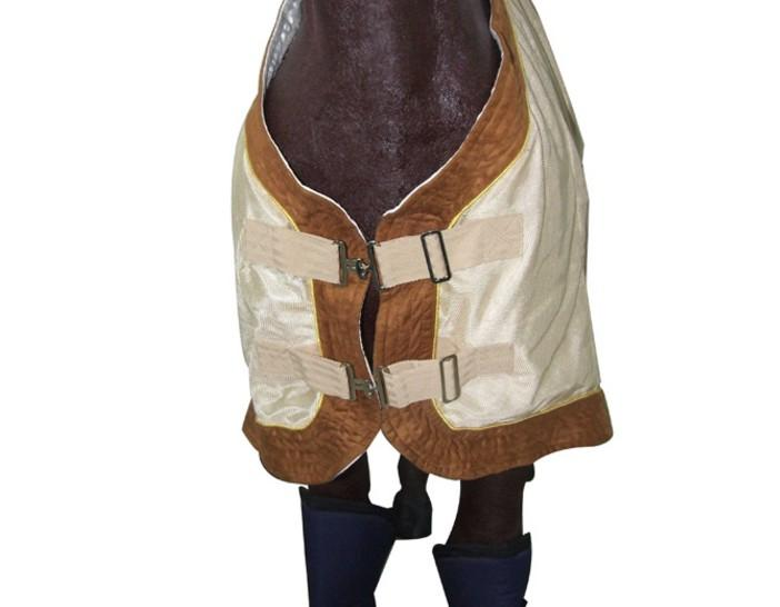 fleece tops and mesh fabric horse rug/clothes with neck  - Horse Net Rugs; Horse Blankets Horse Rugs