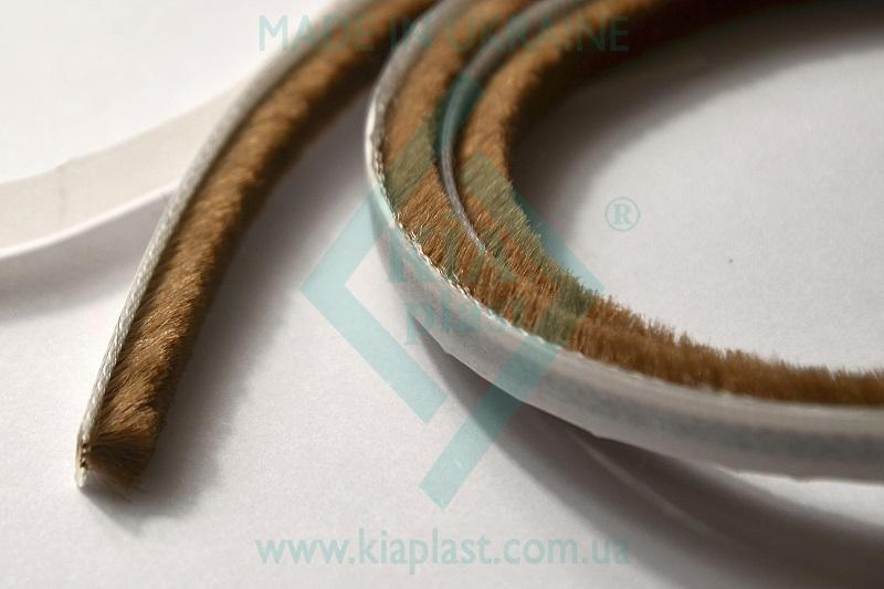 Pile Weatherstrip - Pile Weatherstrip, dustproof and buffer brush - 4,8x8-3Р