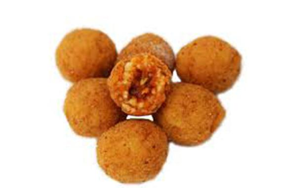 Arancini artigianali Siciliani al Ragu' - Produzione artigianale di 12 gusti di Arancino Artigianale
