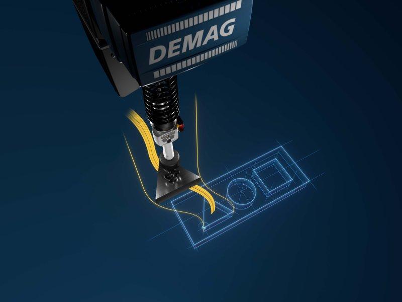 Palan à chaîne DCBS - Commande intuitive. Positionnement précis.