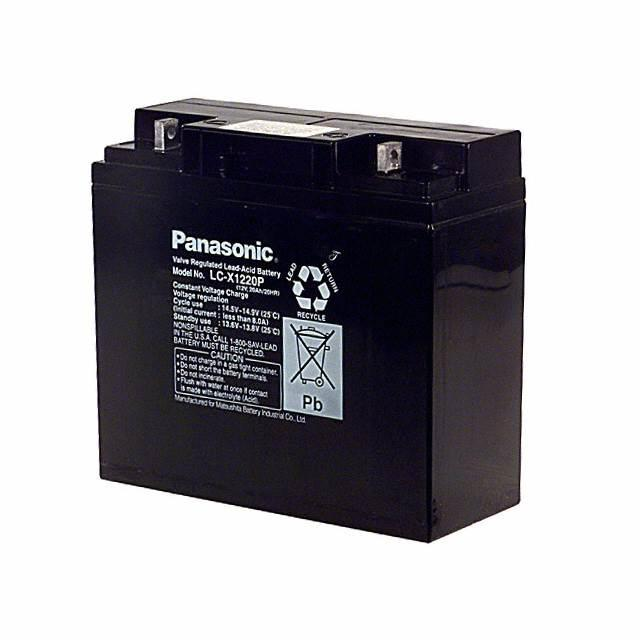 BATTERY LEAD ACID 12V 20AH - Panasonic - BSG LC-X1220P