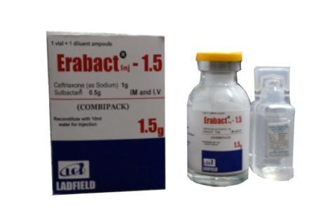 Ceftriaxone Sulbactam Injection - Ceftriaxone Sulbactam Injection
