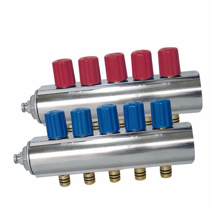 Colector de engranajes interno con válvula de autocierre / m - 3/4'', 1'', 1 1/4'' Colector