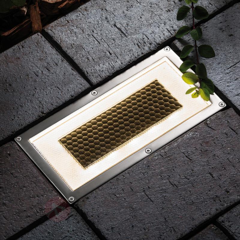 Spot de sol Special Line Solar Box avec LED - Spots encastrés dans le sol