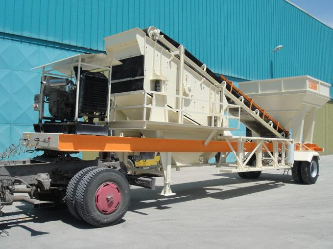 Mobile Screen And Classifier Unit - null