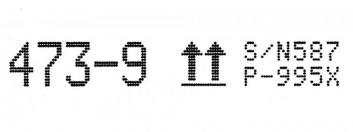 Têtes d'écriture - REA JET DOD 2.0 - Imprimante à jet d'encre á grands caractéres, nouvelle génération 2.0