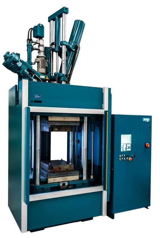 Presses à injecter le caoutchouc verticales REP - Gamme Lean : G10 Core