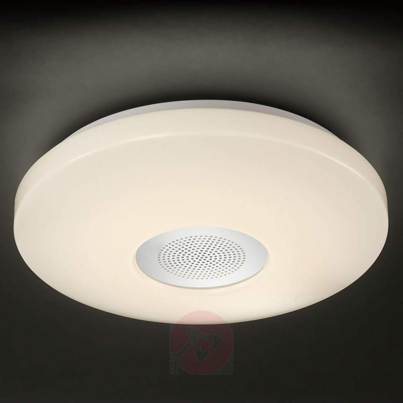Zon ceiling light with Bluetooth speaker - indoor-lighting