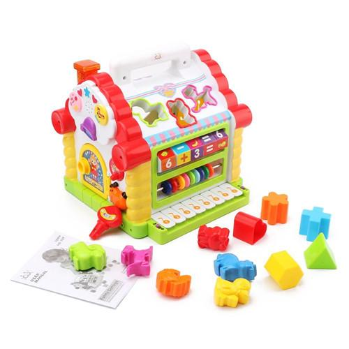Activity cube toy for children