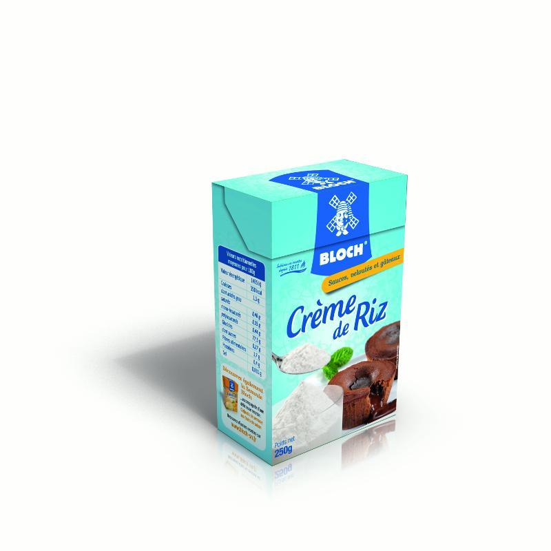 Crème de riz Bloch Société Nouvelle - Crème de Riz pour alléger sauces et pâtisseries