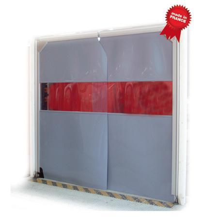 Isopass alu Impact traffic door - Swing door for Industrial application