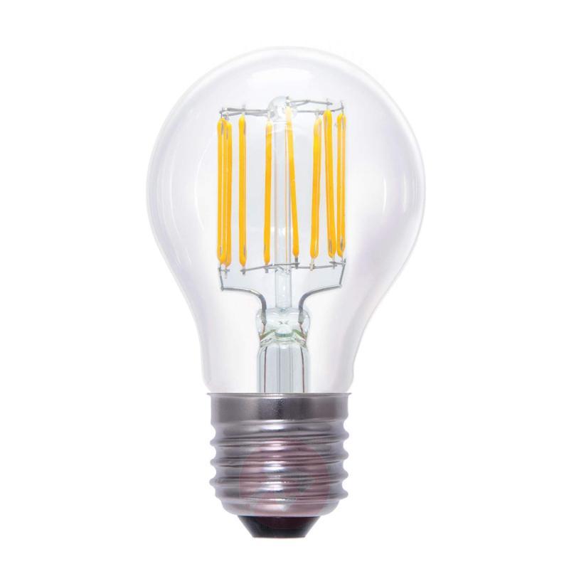 E27 5.5 W 826 LED lamp, transparent - light-bulbs