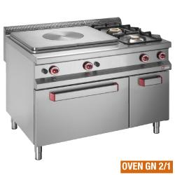GAMME MASTER 900 - GAS COOKING RANGE SOLID TOP