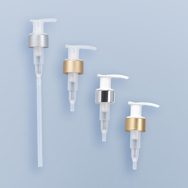 Pompe Dispenser Chapée Gs - Gsa Bague Gcmi 24/410 Et 28/410 - Pompes Hygiène et Cosmétique
