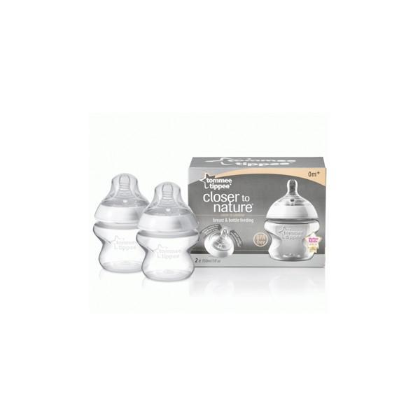 Biberons Twin Pack Tommee Tippee 150 ml - null