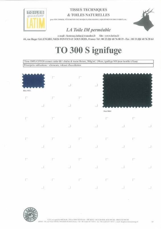TO 300 S INGIFUGE - Toiles naturelles