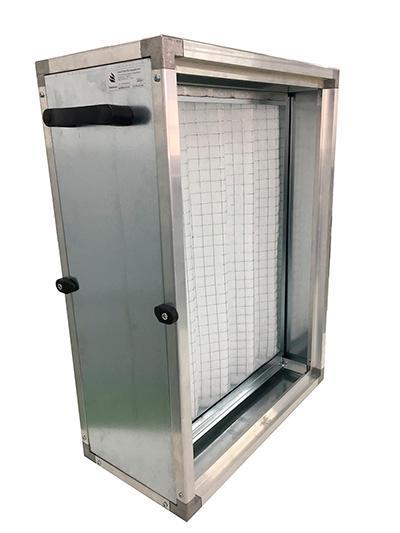 Caixa Porta Filtro | Modular Air Filter Unit - Série Pré Filtragem