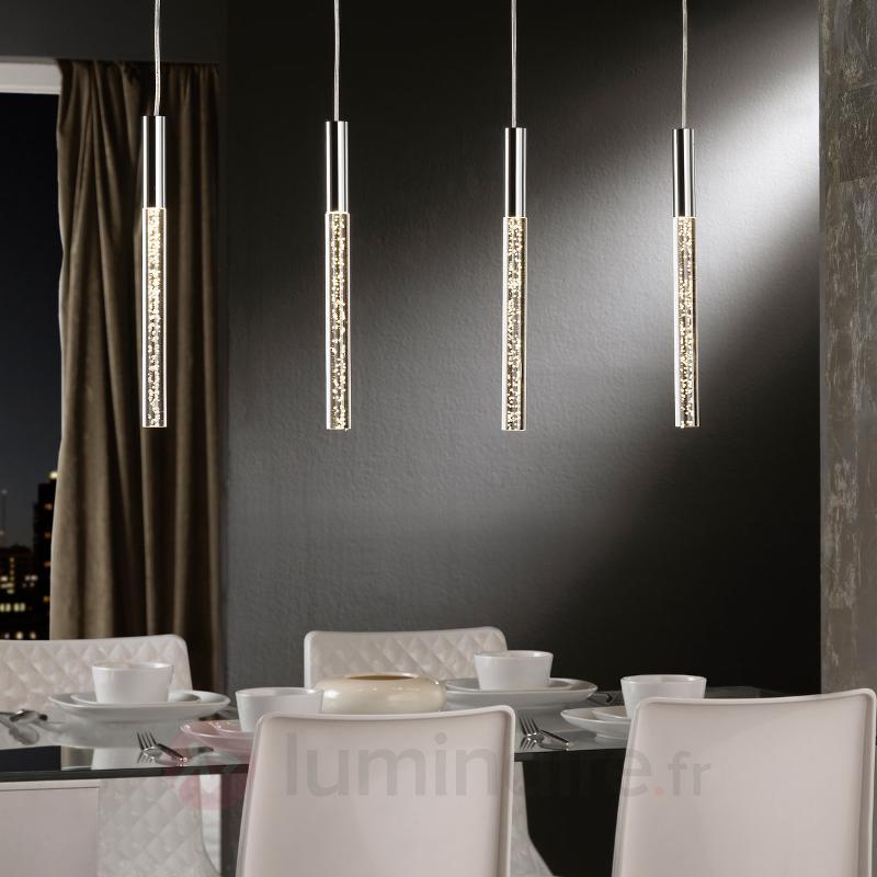 Suspension LED Cosmo à quatre lampes - Suspensions design