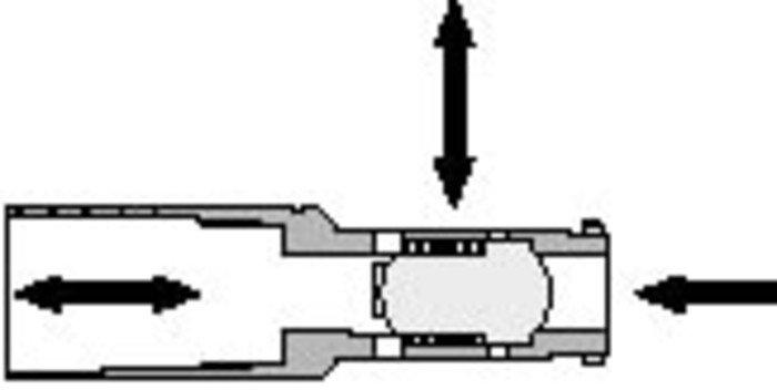 500 High Pressure Spring Biased Shuttle Valve - null